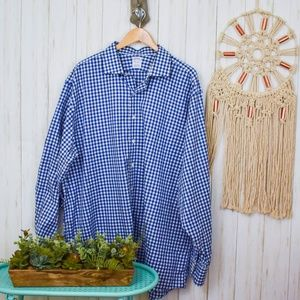 Brooks Brothers Plaid Cotton Button Down Shirt